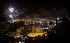 Lo mejor de los fuegos artificiales de la Feria de Málaga en los últimos años