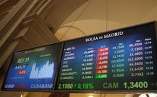 El Ibex-35 se queda sin los 8.700 puntos pese al rebote propiciado por Trump