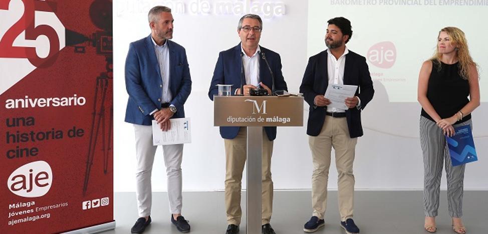 Málaga es la provincia andaluza en la que más empresas se están creando