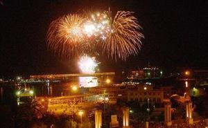 Así suenan las canciones de los fuegos artificiales de la Feria de Málaga 2019