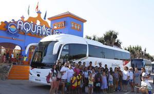 La solidaridad también viaja en bus