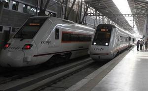 La huelga de Renfe dejará este miércoles menos AVE y Cercanías en Málaga el inicio de la feria
