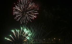 Vídeo | Así fue el espectáculo de los fuegos artificiales: 18 minutos en 90 segundos