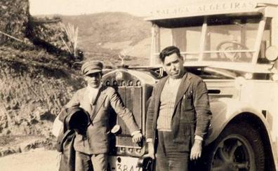 Un viaje en Portillo de Málaga a La Línea en 1922
