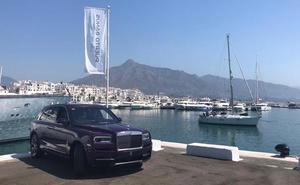 Una hora a bordo de un Rolls- Royce por Marbella
