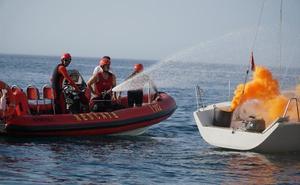 Marbella pone a prueba sus servicios de salvamento