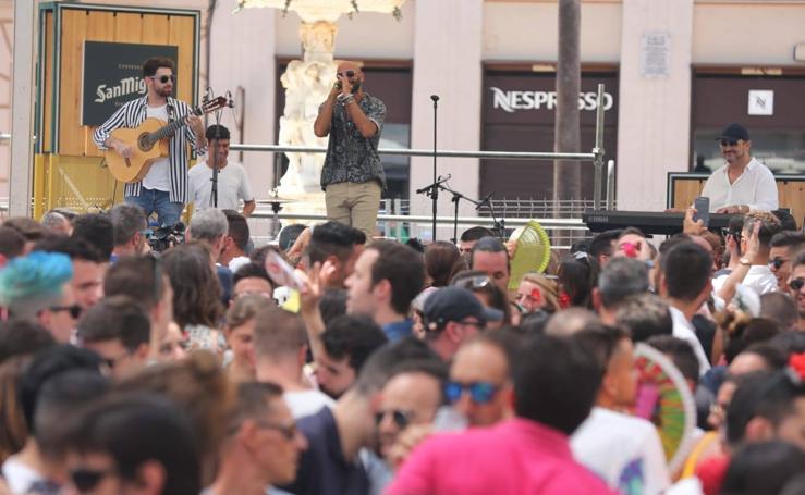 Todas las imágenes del primer día de la Feria de Málaga 2019