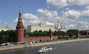 Hallan en el Kremlin una bomba de la Segunda Guerra Mundial
