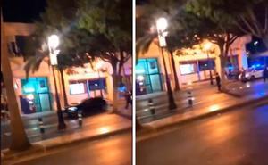 La Policía Local dispara contra un coche que intentó atropellar a un agente en Puerto Banús