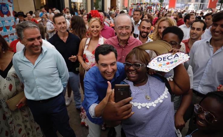 Todas las imágenes del segundo día de la Feria de Málaga 2019