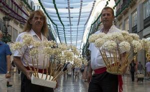 Biznaga: el esfuerzo para conseguir el olor del verano malagueño