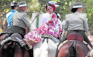 Los caballos toman el protagonismo en el real de la Feria de Málaga