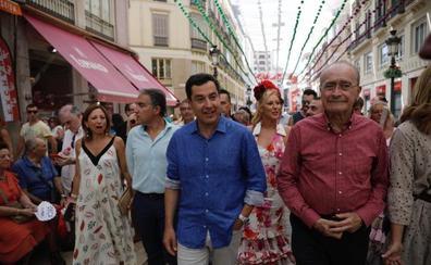 Juanma Moreno apoya una futura alianza electoral con Ciudadanos en Andalucía