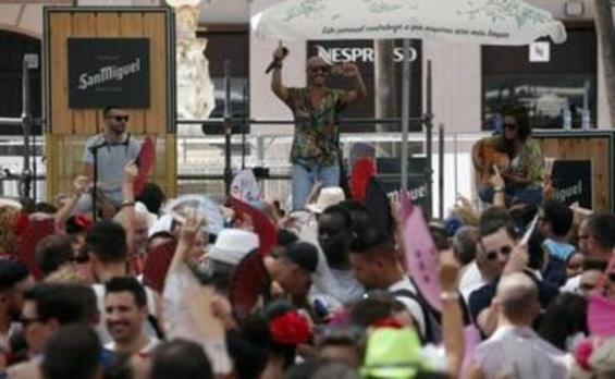Todas las fotos del domingo 18 en la Feria de Málaga