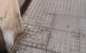 Calle Poeta Muñoz Rojas: reclaman más limpieza