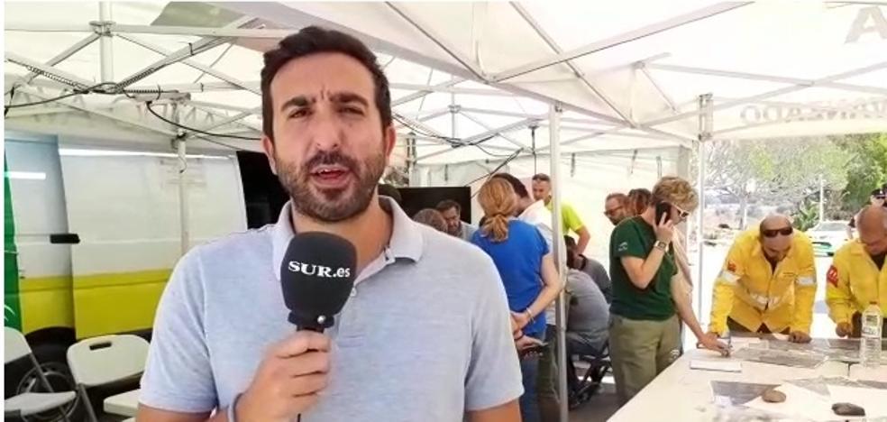 El periodista de SUR Álvaro Frías analiza la última hora del incendio de Estepona