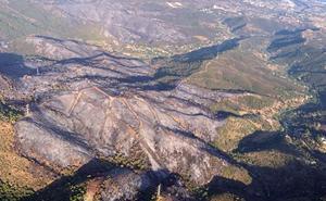 Estabilizado el incendio de Estepona, que ha calcinado unas 300 hectáreas