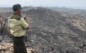 Así ha sido la evolución del incendio forestal de Estepona