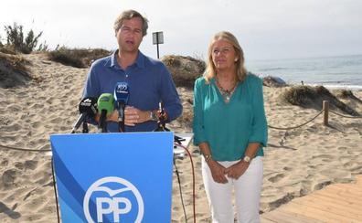 El PP presentará iniciativas en el Congreso y el Senado para la estabilización de las playas