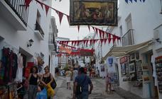 Inicio del Festival 3 Culturas en Frigiliana