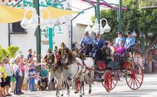 El Concurso de Enganches marca el paso de la recta final de la feria de Málaga 2019