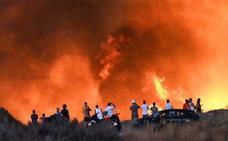 Controlado el incendio que obligó a desalojar 40 viviendas en la urbanización Bello Horizonte de Marbella
