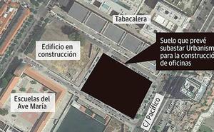 Fondos de inversión internacionales se interesan por una parcela para construir oficinas junto a Tabacalera