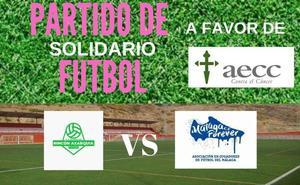 Rincón de la Victoria acoge un partido de fútbol solidario a beneficio de la Asociación Española contra el Cáncer