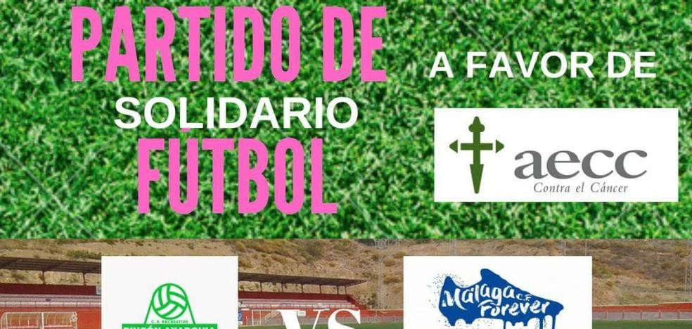 Rincon de la Victoria hosts a football match for the benefit of the Spanish Association against Cancer