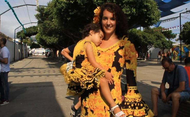Los trajes de flamenco siguen siendo los reyes del Real