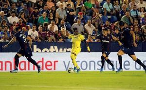 El Villarreal perdona y el Levante logra una increíble remontada