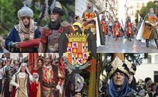 Guía para no perder detalle de la Cabalgata Histórica de Málaga de hoy