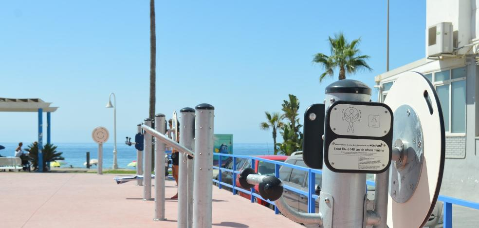 Rincon de la Victoria completes the network of bio-healthy parks with new equipment