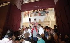 Jesús Romero abre la puerta grande tras una compacta faena en La Malagueta