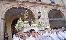 La Virgen de la Victoria ya está en la Catedral para su anual novena