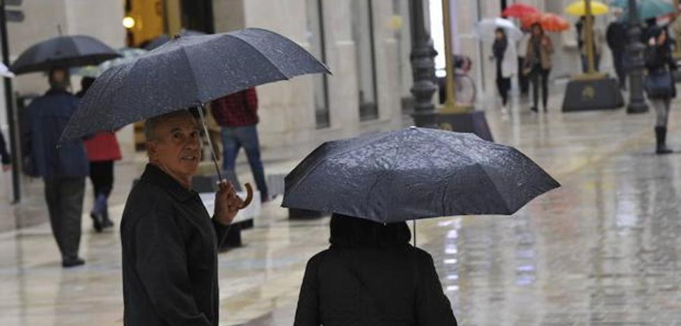 Alertan de un cambio brusco del tiempo que traería lluvias a Málaga a partir del lunes
