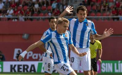 Odegaard le da la primera victoria a la Real Sociedad
