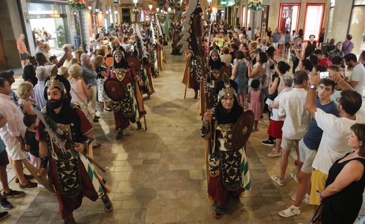 La Cabalgata Histórica pone fin a la Feria de Málaga 2019