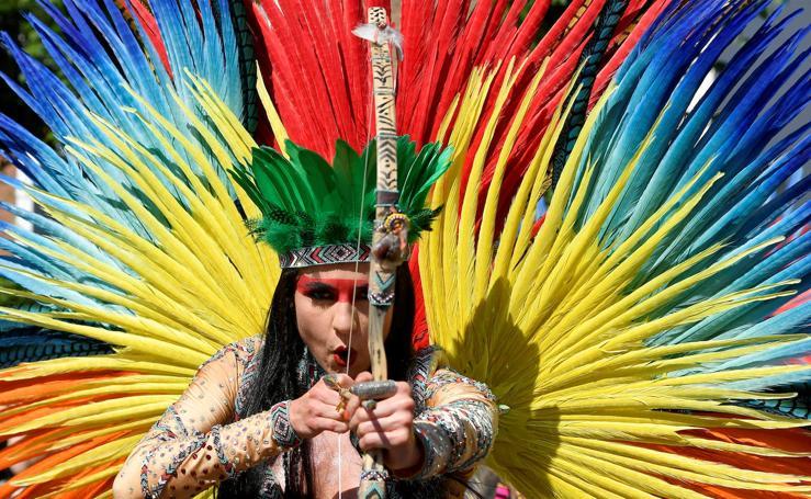 Las mejores fotos del colorido Carnaval Notting Hill en Londres