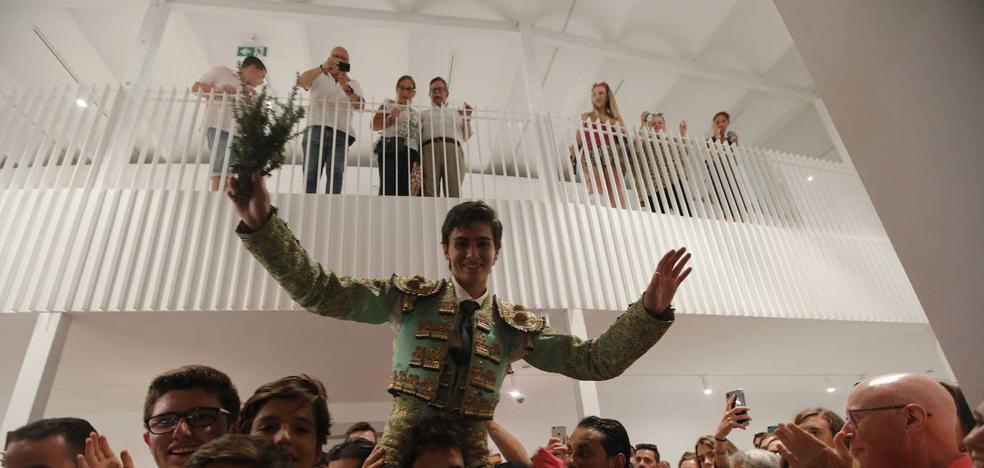 Jesús Romero gana el Certamen de Escuelas y logra un puesto en la novillada de 2020