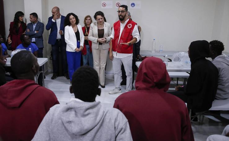 Málaga luce equipamiento para una atención digna al migrante