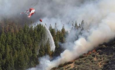 Concluye la alerta por riesgo de fuegos forestales en las islas Canarias