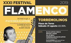 El XXXI Festival Flamenco de Torremolinos reunirá el 31 de agosto a más de 20 artistas sobre el escenario