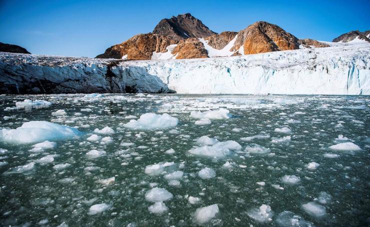 La pérdida del glaciar de Groenlandia: otra señal del calentamiento global