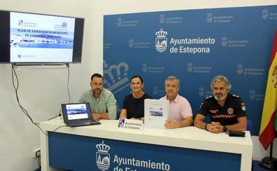El Plan de Emergencia Municipal de Estepona cuenta con 5.000 efectivos y 200 vehículos