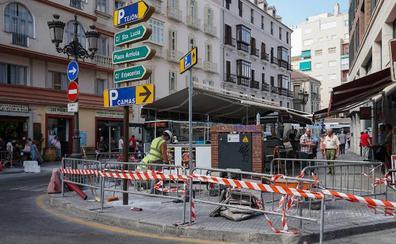 Las obras para el hotel de Moneo se hacen notar en la zona de Atarazanas