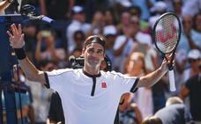 Federer se mete en octavos sin sudar