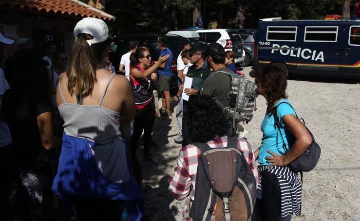 Búsqueda de Blanca Fernández Ochoa en la sierra de Madrid