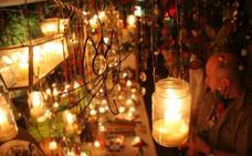 Compras a la luz de las velas este fin de semana en Málaga