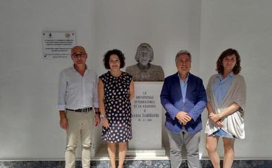 Vélez-Málaga refuerza el legado de María Zambrano a través de un convenio con la Universidad Complutense de Madrid